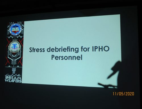 IPHO conducts Stress Debriefing for personnel